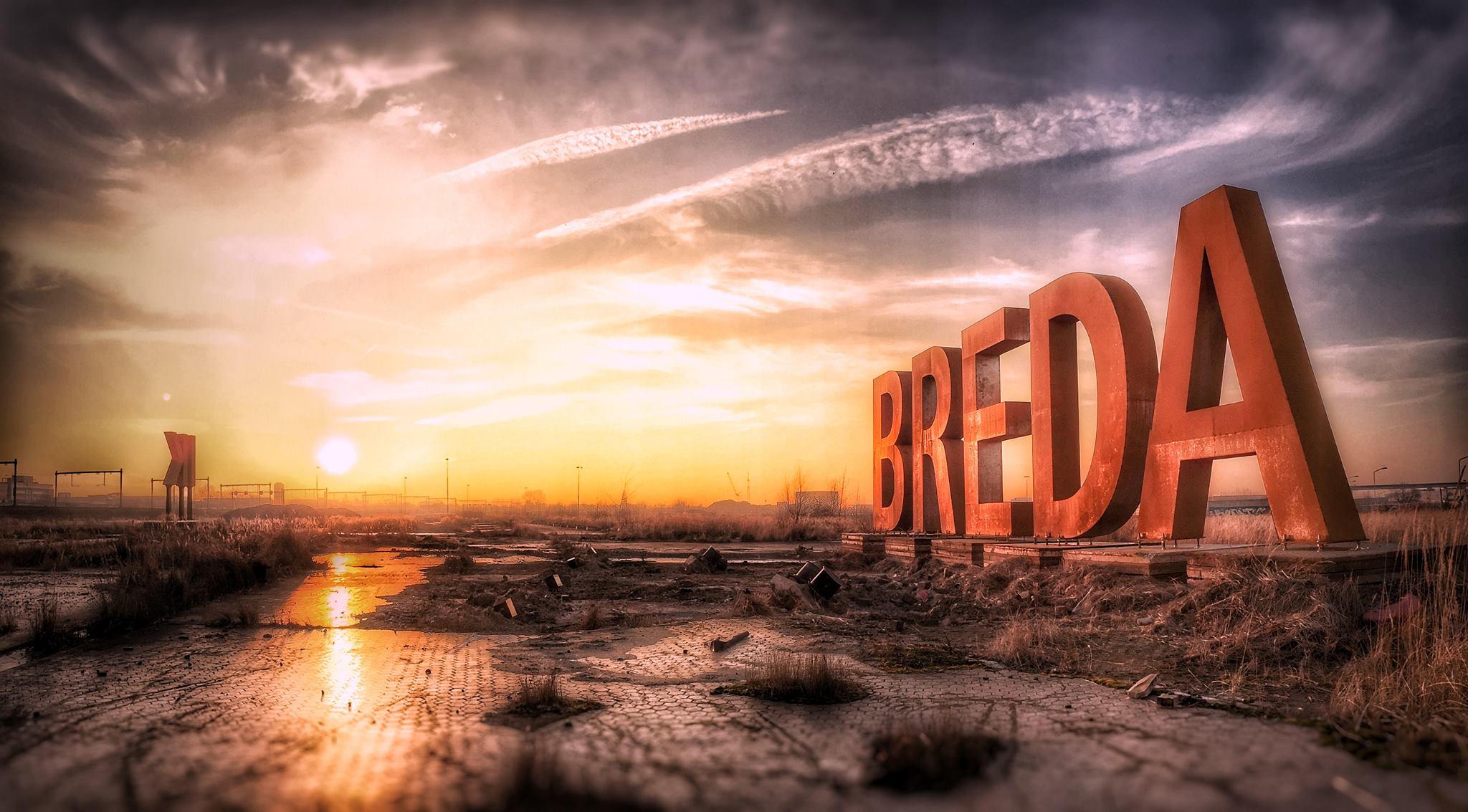 Fototour naar BREDA-letters